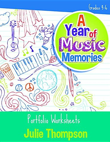9780787718152: A Year of Music Memories: Portfolio Worksheets