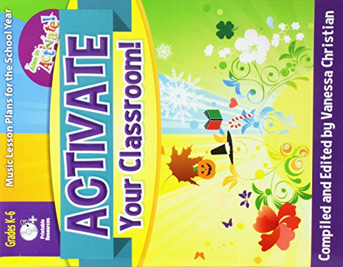 9780787722784: Activate Your Classroom!: Music Lesson Plans for the School Year