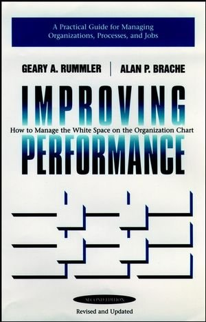 9780787900908: Improving Performance: How to Manage the White Space on the Organization Chart (Jossey Bass Business & Management Series)