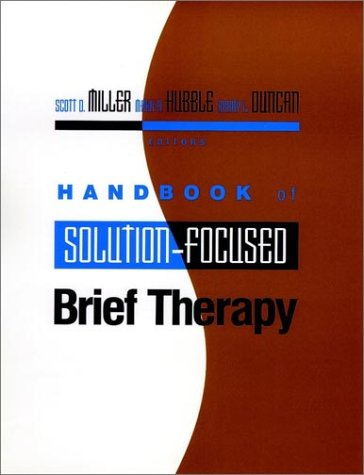 9780787902179: Handbook of Solution-Focused Brief Therapy (Jossey-Bass Psychology)