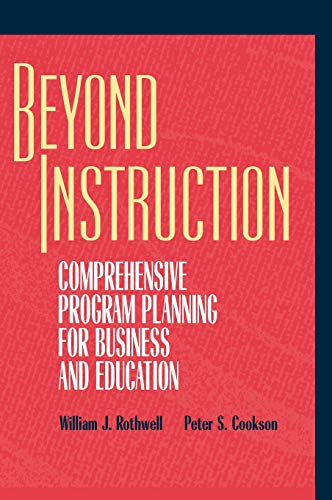9780787903282: Beyond Instruction: Comprehensive Program Planning for Business and Education