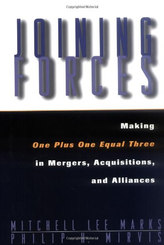 9780787903503: Joining Forces: Making One Plus One Equal Three in Mergers, Acquisitions, and Alliances (Jossey Bass Business & Management Series)