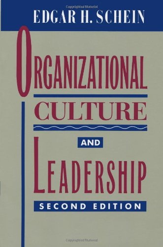 9780787903626: Organizational Culture and Leadership (J-B US non-Franchise Leadership)