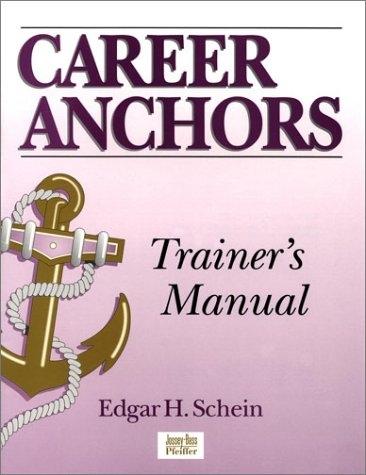 9780787906528: Career Anchors: Trainer's Manual