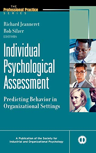 9780787908614: Individual Psychological Assessment: Predicting Behavior in Organizational Settings
