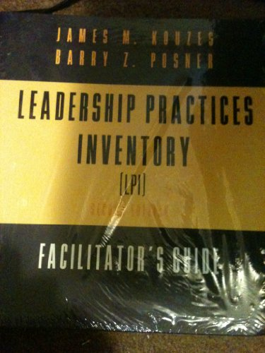 9780787909734: Leadership Practices Inventory (LPI): Includes Scoring Software 3.5, Self/Observer, and Workbook