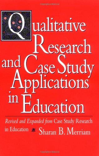 case study in education research Eric milliot university of poitiers, france emilliot@iaeuniv-poitiersfr case study as a research method 1.