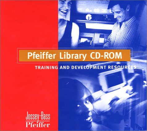 9780787911171: Pfeiffer Library CD-Rom: Training and Development Resources
