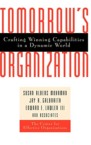 9780787940041: Tomorrows Organization: Crafting Winning Capabilities in a Dynamic World (Business)