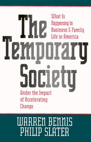 9780787943318: The Temporary Society