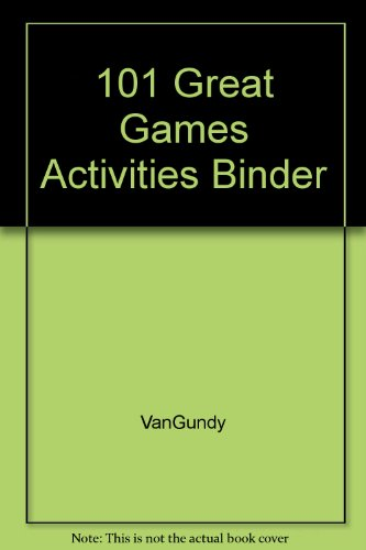9780787944155: 101 Great Games Activities Binder