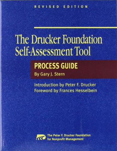 9780787944360: The Drucker Foundation Self-Assessment Tool: Process Guide