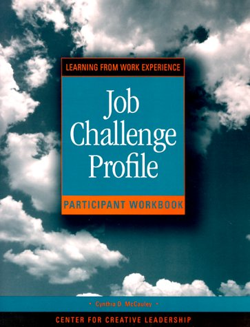 9780787945053: Job Challenge Profile: Participant's Workbook