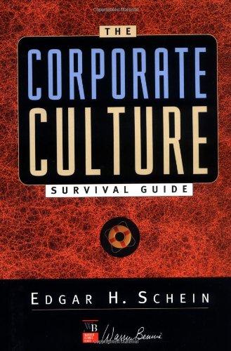 9780787946999: The Corporate Culture Survival Guide (Warren Bennis Book Series)