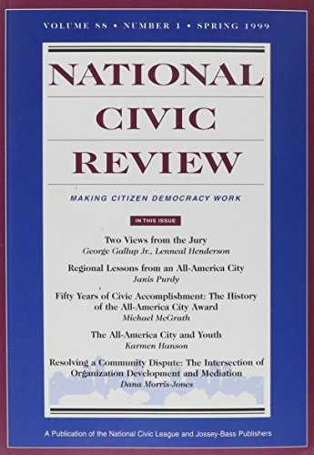 national civic review - AbeBooks