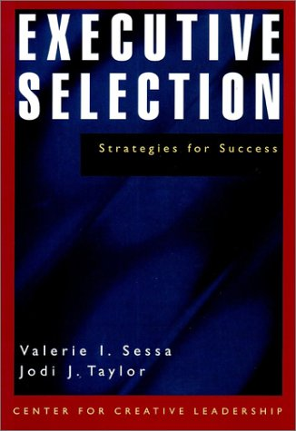 9780787950200: Executive Selection: Strategies for Success