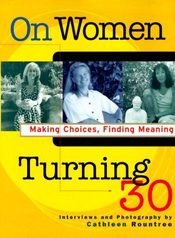 9780787950361: On Women Turning 30