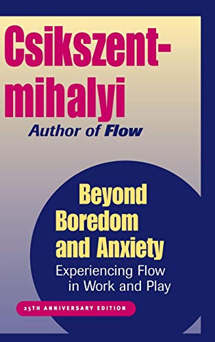 9780787951405: Beyond Boredom and Anxiety: Experiencing Flow in Work and Play