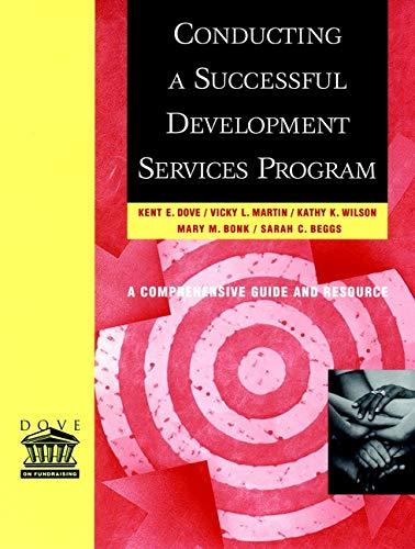 9780787956240: Conducting a Successful Development Services Program