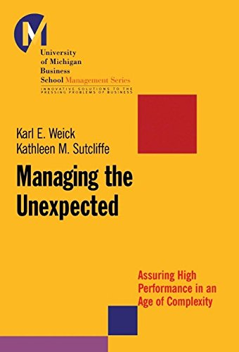 9780787956271: Managing the Unexpected: Assuring High Performance in an Age of Complexity