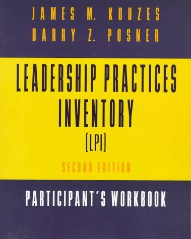 9780787956530: The Leadership Practices Inventory (LPI) - Participants Workbook, 2nd Edition