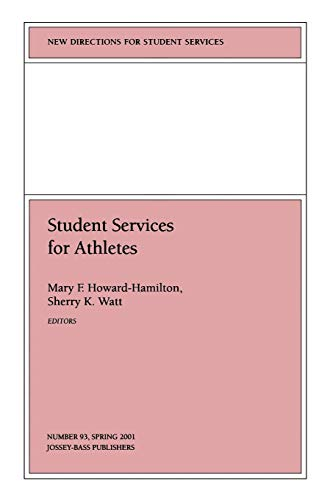 9780787957575: Student Services for Athletes: New Directions for Student Services, Number 93 (Issue 93)