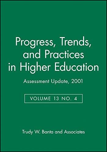 Assessment Update, No. 4, 2001 (J-B AU Single Issue Assessment Update) (Volume 13): Trudy W. Banta ...