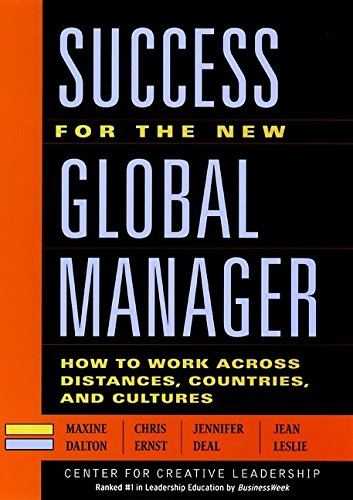 Success for the New Global Manager: How: Maxine Dalton, Chris