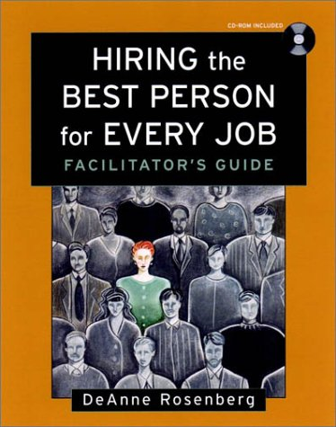 9780787958961: Hiring the Best Person for Every Job, Facilitator's Guide Package