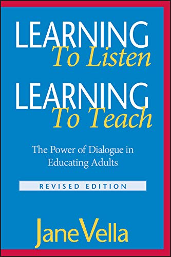 9780787959678: Learning to Listen, Learning to Teach: The Power of Dialogue in Educating Adults (Jossey-Bass Higher and Adult Education Series)