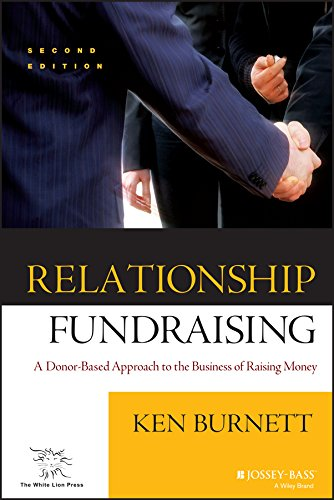 9780787960896: Relationship Fundraising: A Donor Based Approach to the Business of Raising Money