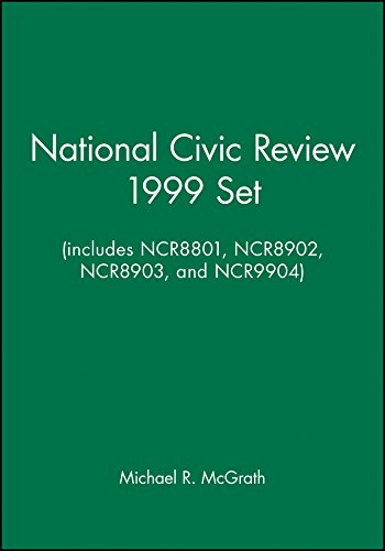 National Civic Review 1999 Set (includes NCR8801, NCR8902, NCR8903, and NCR9904) (J-B NCR Single ...