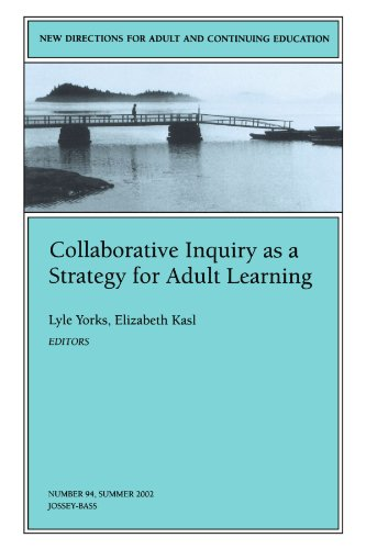 9780787963224: Collaborative Inquiry as a Strategy for Adult Learning: New Directions for Adult and Continuing Education, Number 94 (J-B ACE Single Issue Adult & Continuing Education)