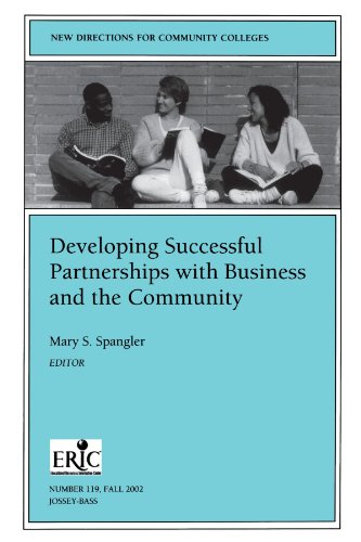 9780787963293: Developing Successful Partnerships with Business and the Community (New Directions for Community Colleges)