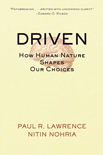 9780787963859: Driven: How Human Nature Shapes Our Choices (Warren Bennis signature)