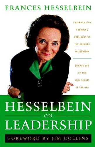 HESSELBEIN ON LEADERSHIP (SIGNED): Hesselbein, Frances (aut)