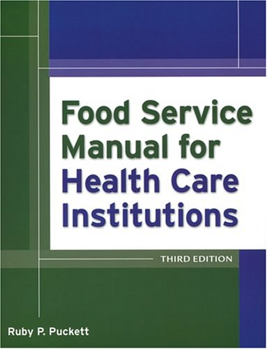 9780787964689: Food Service Manual for Health Care Institutions