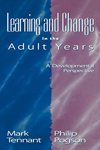 9780787964986: Learning and Change in the Adult Years: A Developmental Perspective