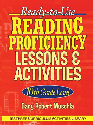 9780787965877: Ready-to-Use Reading Proficiency Lessons and Activities: 10th Grade Level