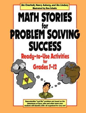 9780787966256: Math Stories for Problem Solving Success: Ready-to-use Activities for Grades 7-12