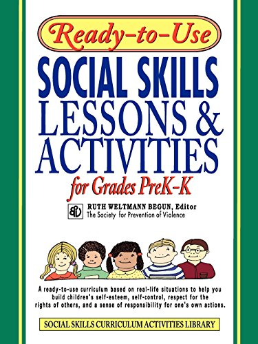 9780787966386: Ready-to-Use Social Skills: Lessons & Activities for Grades PreK-K