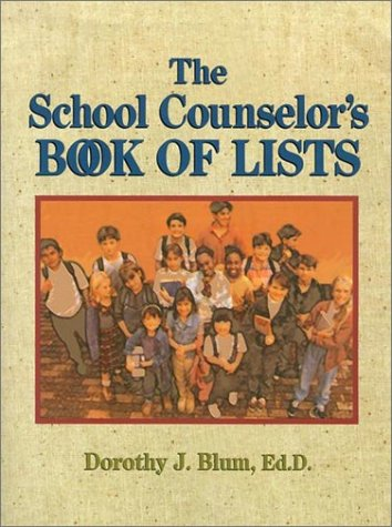 9780787966409: The School Counselor's Book of Lists