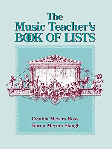 9780787966898: The Music Teacher's Book of Lists (Education)