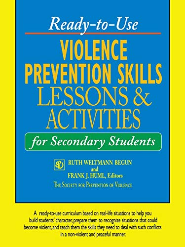 9780787966911: Ready-to-Use Violence Prevention Skills Lessons and Activities for Secondary Students