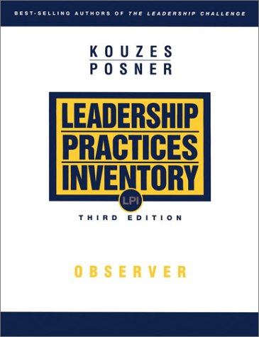 9780787967277: The Leadership Practices Inventory (LPI): Observer 3rd Edition