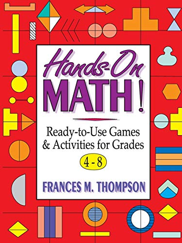 9780787967406: Hands-On Math!: Ready-To-Use Games & Activities for Grades 4-8