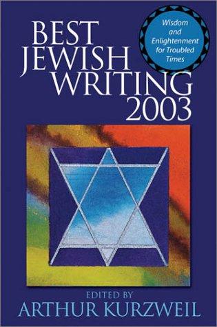 9780787967710: Best Jewish Writing 2003