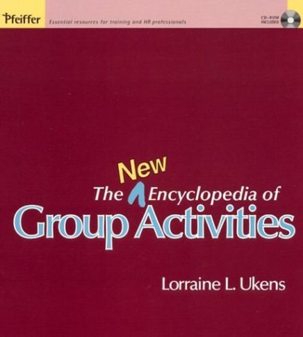 9780787968540: The New Encyclopedia of Group Activities (w/CD)