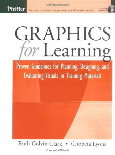 9780787969943: Graphics for Learning: Proven Guidelines for Planning, Designing, and Evaluating Visuals in Training Materials