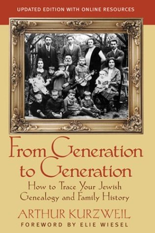9780787970512: From Generation to Generation: How to Trace Your Jewish Genealogy and Family History